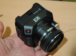 BM micro studio 4k small camera