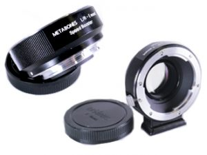 Metabones Speed Booster Leica R to Sony E mount hire rent London