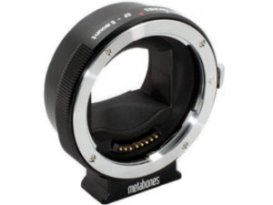 Sony E/NEX to Canon EF mount adapter