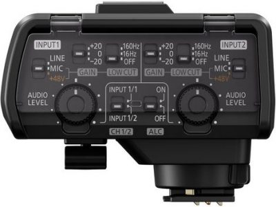 Lumix GH5 audio adapter