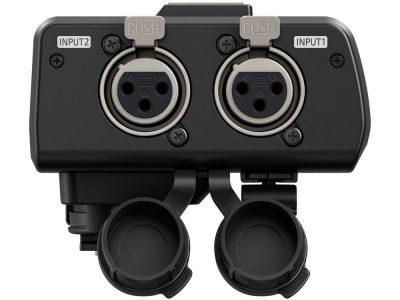 Lumix GH5 audio adapter XLR inputs