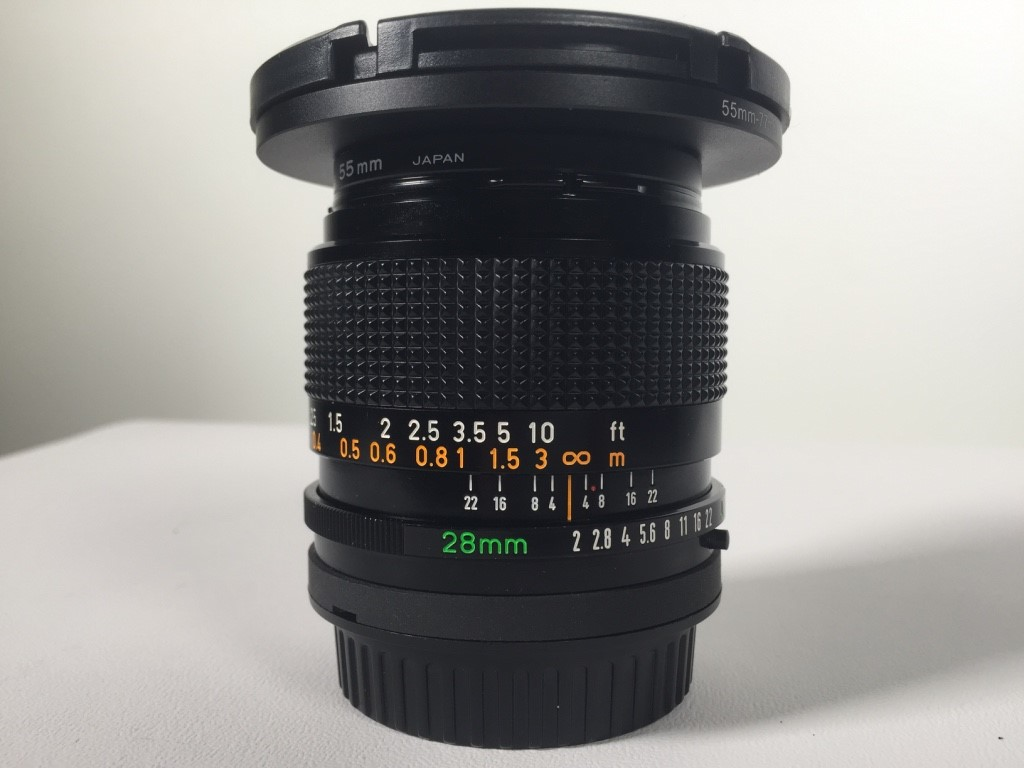 dating canon fd lenses