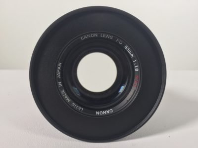 Canon FD 85mm lens hire