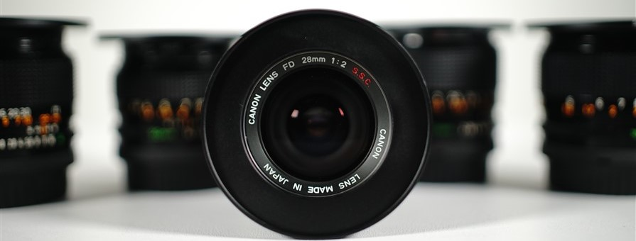 New gear for hire – Canon FD lenses