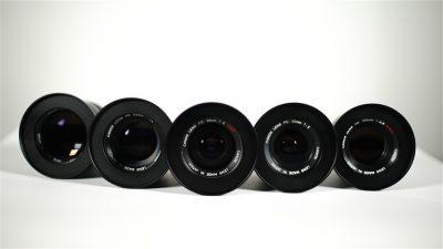 Classic film lenses Canon FD