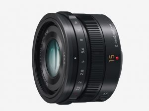 Panasonic Lumix 15mm lens hire