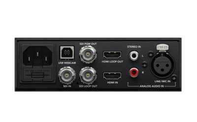Blackmagic Web Presenter SDI HDMI inputs