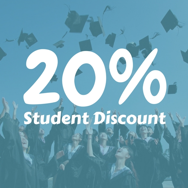 Student discount at Gear Factory