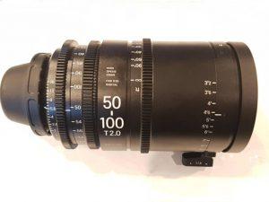 Sigma 50-100 cine zoom lens hire