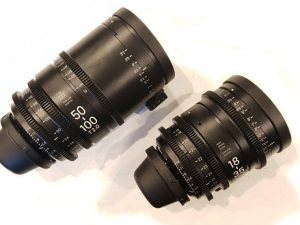 Sigma 18-35 and 50-100 zoom lens hire