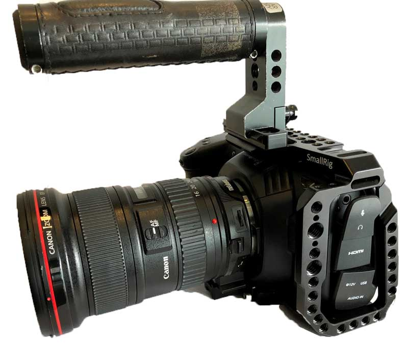 Blackmagic Pocket Cinema Camera 4k Hire London