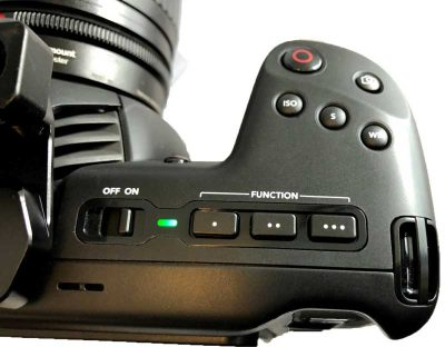 Blackmagic Pocket Cinema Camera 4K top